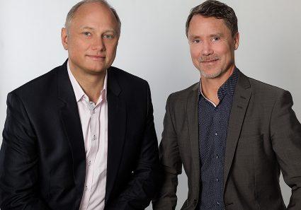 Grundare IQ Assurance, Fredrik Sandblom och Jan Nordzell.
